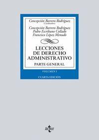 LECCIONES DE DERECHO ADMINISTRATIVO VOL.I PARTE GENERAL