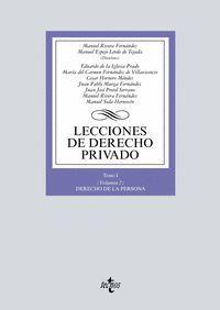 LECCIONES DE DERECHO PRIVADO TOMO I (VOLUMEN 2)