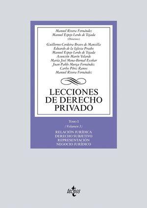 LECCIONES DE DERECHO PRIVADO TOMO I VOL.3