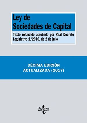 LEY SOCIEDADES CAPITAL (ANTIGUA EDICION)