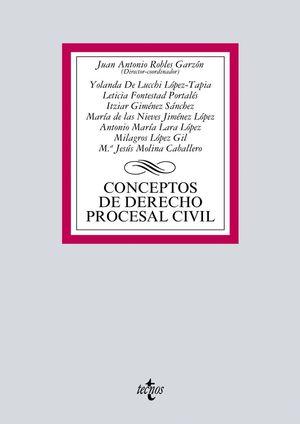 CONCEPTOS DE DERECHO PROCESAL CIVIL (2017)