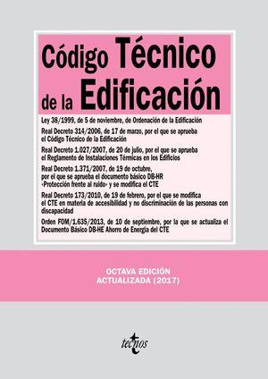 CODIGO TECNICO DE LA EDIFICACION 8ªED. 2017
