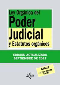 LEY ORGANICA PODER JUDICIAL 2017 (ANTIGUA EDICION)