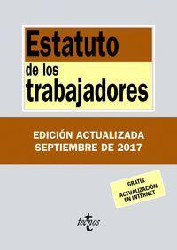 ESTATUTO DE LOS TRABAJADORES 2017 (ANTIGUA EDICION)