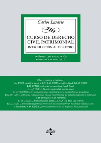 CURSO DE DERECHO CIVIL PATRIMONIAL (20ª ED.) 2017