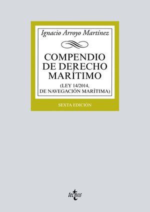 COMPENDIO DE DERECHO MARITIMO (6ª ED.) 2017