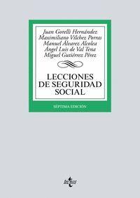 LECCIONES DE SEGURIDAD SOCIAL (7ª ED.) 2017