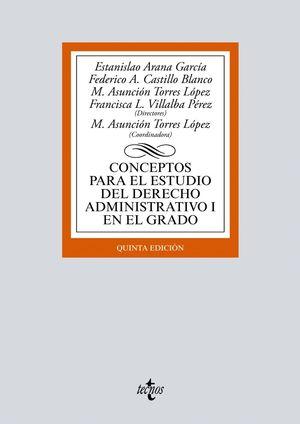 CONCEPTOS PARA EL ESTUDIO DEL DERECHO ADMINISTRATIVO I