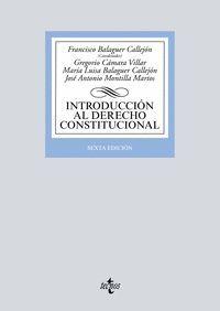 INTRODUCCION DERECHO CONSTITUCIONAL (ANTIGUA EDICION)