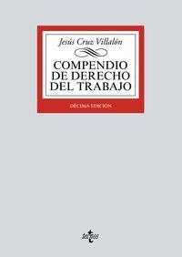 COMPENDIO DE DERECHO DEL TRABAJO 2017