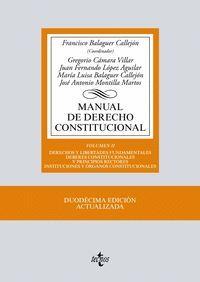 MANUAL DE DERECHO CONSTITUCIONAL VOL.II (2017)