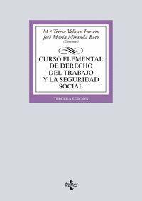 CURSO ELEMENTAL DE DERECHO DEL TRABAJO Y LA SEGURIDAD SOCIAL 2017