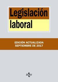 LEGISLACION LABORAL (2017) (ANTIGUA EDICION)