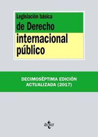 LEGISLACION BASICA DERECHO INTERNACIONAL PUBLICO (ANTIGUA EDICION)