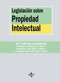 LEGISLACION SOBRE PROPIEDAD INTELECTUAL