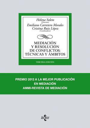 MEDIACION Y RESOLUCION DE CONFLICTOS: TECNICAS Y AMBITOS 2017
