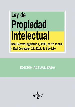 LEY DE PROPIEDAD INTELECTUAL 2017 (ANTIGUA EDICION)