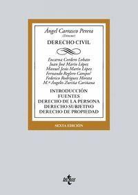 DERECHO CIVIL (2018) INTRODUCCION, FUENTES, DERECHO PERSONA
