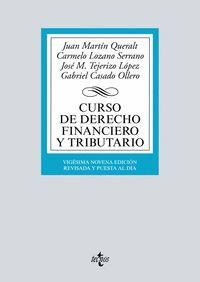 CURSO DE DERECHO FINANCIERO Y TRIBUTARIO (2018)