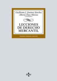 LECCIONES DE DERECHO MERCANTIL (2018)