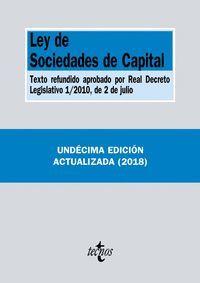 LEY DE SOCIEDADES DE CAPITAL (2018)