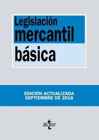 LEGISLACIÓN MERCANTIL BÁSICA (2018)