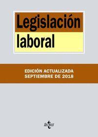 LEGISLACIÓN LABORAL (2018)