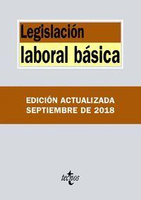 LEGISLACIÓN LABORAL BÁSICA (2018)