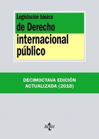 LEGISLACIÓN BÁSICA DE DERECHO INTERNACIONAL PÚBLICO (2018)