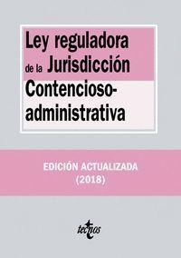 LEY REGULADORA DE LA JURISDICCIÓN CONTENCIOSO-ADMINISTRATIVA (2018)