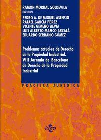 PROBLEMAS ACTUALES DE DERECHO DE LA PROPIEDAD INDUSTRIAL