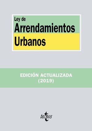 LEY DE ARRENDAMIENTOS URBANOS (2019)