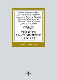 CURSO DE PROCEDIMIENTO LABORAL 2019