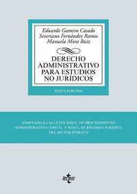 DERECHO ADMINISTRATIVO PARA ESTUDIOS NO JURÍDICOS (2019)