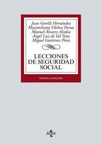 LECCIONES DE SEGURIDAD SOCIAL 2019