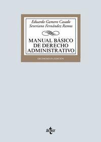 MANUAL BÁSICO DE DERECHO ADMINISTRATIVO (2019)