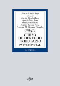 CURSO DE DERECHO TRIBUTARIO, PARTE ESPECIAL (2019)
