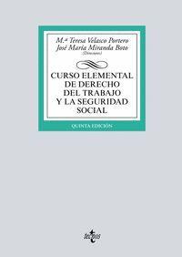CURSO ELEMENTAL DE DERECHO DEL TRABAJO Y LA SEGURIDAD SOCIAL 2019