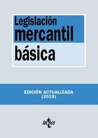 LEGISLACIÓN MERCANTIL BÁSICA 2019