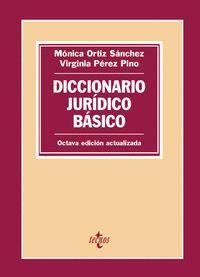 DICCIONARIO JURÍDICO BÁSICO (2019)