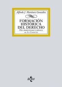 FORMACIÓN HISTÓRICA DEL DERECHO 2019