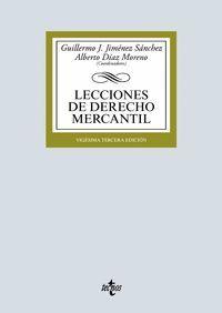 LECCIONES DE DERECHO MERCANTIL