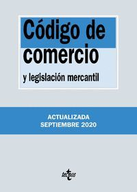 CÓDIGO DE COMERCIO 2020