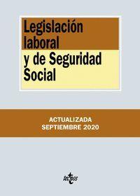 LEGISLACIÓN LABORAL Y DE SEGURIDAD SOCIAL 2020 (ANTIGUA EDICION)