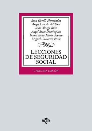 LECCIONES DE SEGURIDAD SOCIAL (2021) 11ª EDIC.