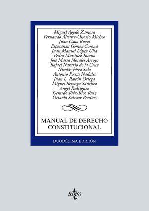 MANUAL DE DERECHO CONSTITUCIONAL (2021)