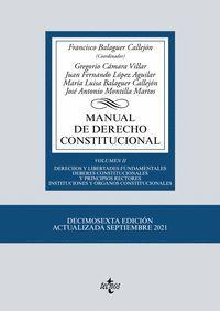 MANUAL DE DERECHO CONSTITUCIONAL VOL.II (2021)