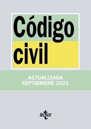 CODIGO CIVIL SEPTIEMBRE 2021