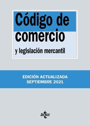 CODIGO DE COMERCIO Y LEGISLACION MERCANTIL (2021)