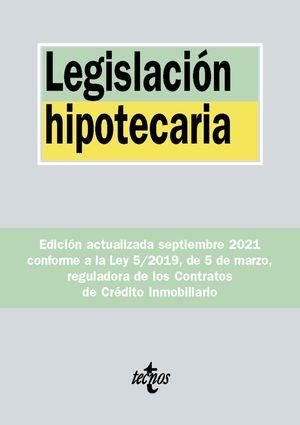 LEGISLACION HIPOTECARIA (2021)